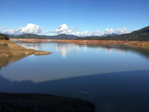 A very empty Lake Shasta